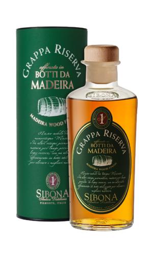 Sibona Grappa Riserva Botti da Madeira