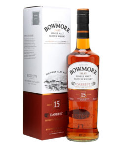 "Bowmore Islay Single Malt Scotch Whisky ""Darkest"" 15 Years Old"